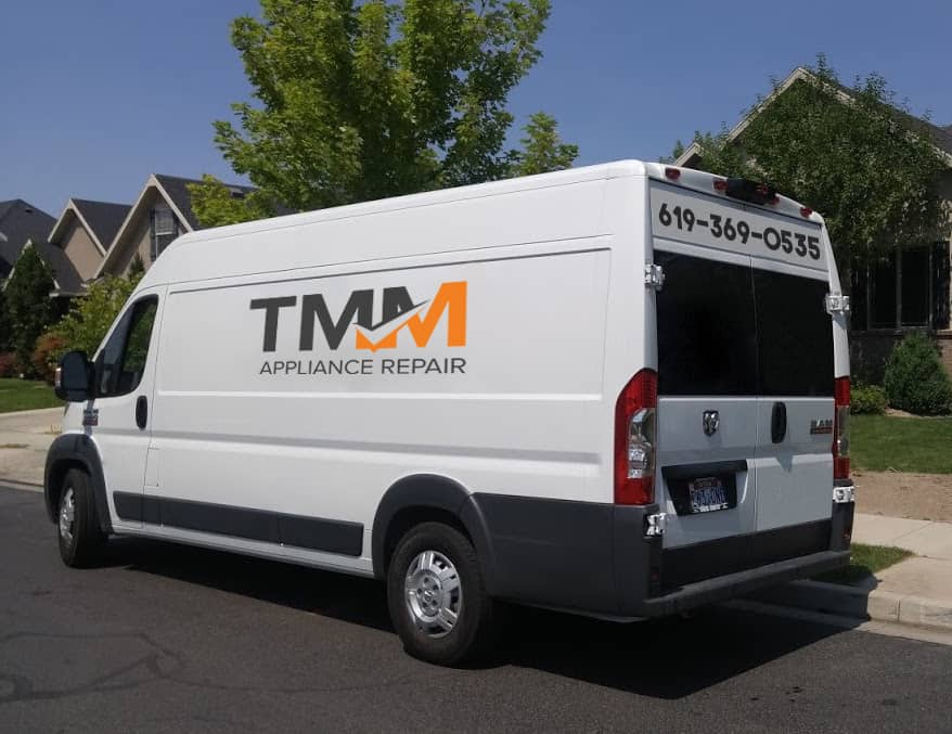 tmm appliance repair van