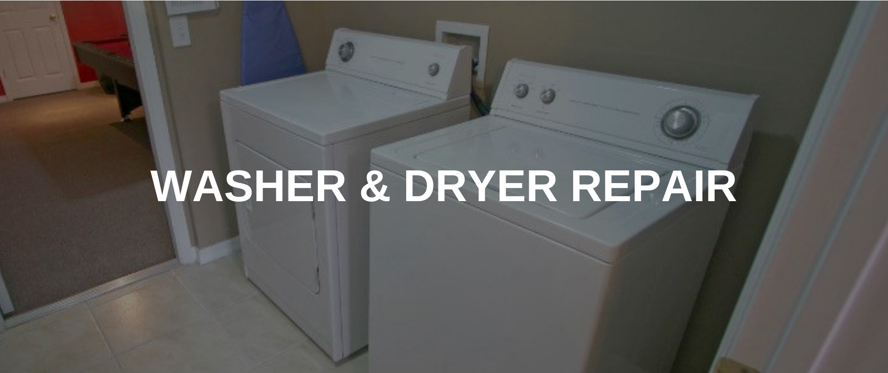 washing machine repair california